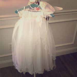 d82556fef Sarah Louise Christening gown & bonnet 0-3 months